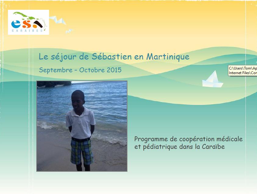ESA-Caraibes_Présentation séjour Sébastien